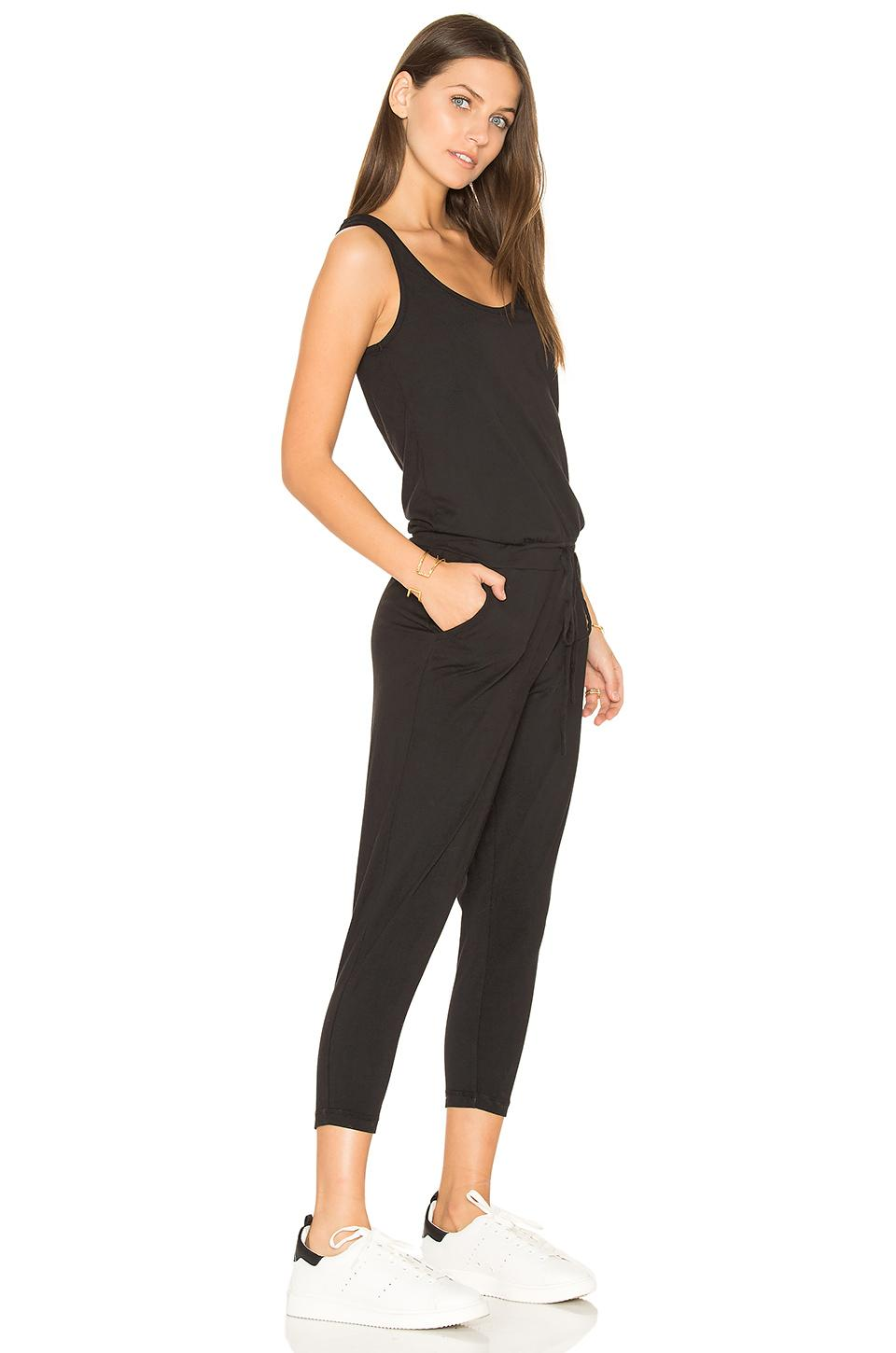 9f2102e666b Bobi - Black Supreme Jersey Sleeveless Jumpsuit - Lyst. View fullscreen