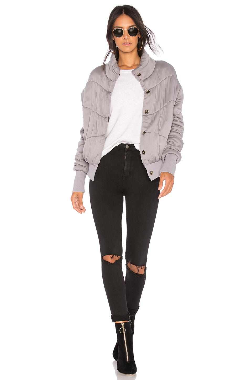 f817effe834 Young Fabulous   Broke Puffer Jacket in Gray - Lyst