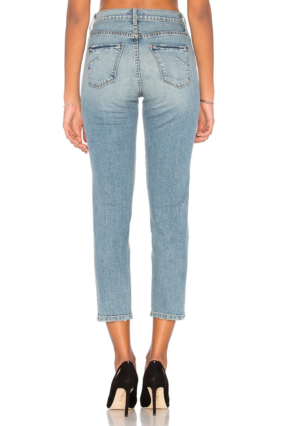 James Jeans Cotton Donna Straight in Blue