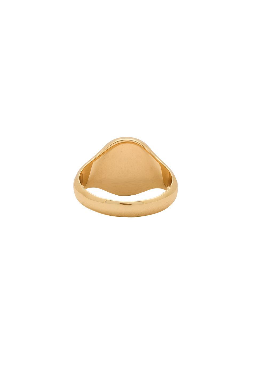 Melanie Auld Round Signet Ring S82kZX