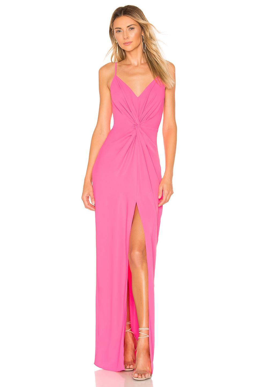 ae296417739 Amanda Uprichard - Pink Ellie Maxi Dress - Lyst. View fullscreen