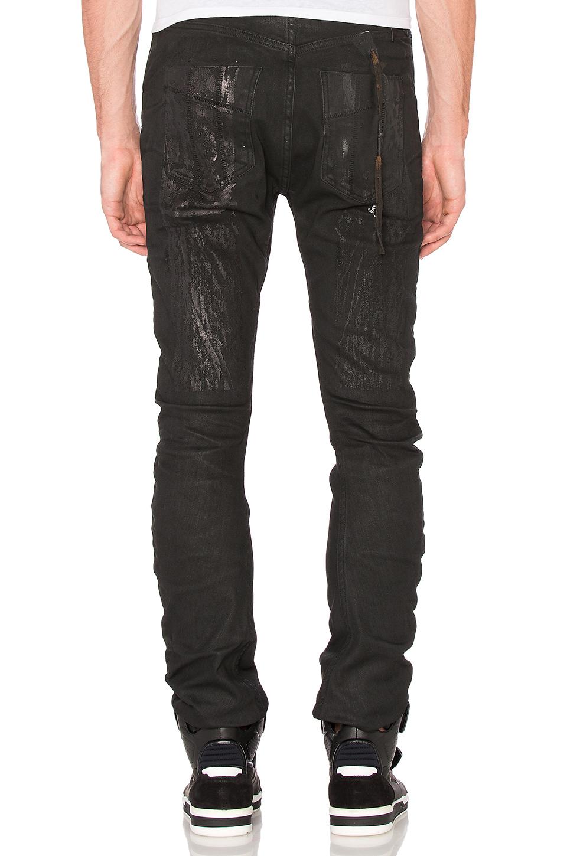 Boris Bidjan Saberi 11 Denim Jeans in Denim Wash 1 (Blue) for Men