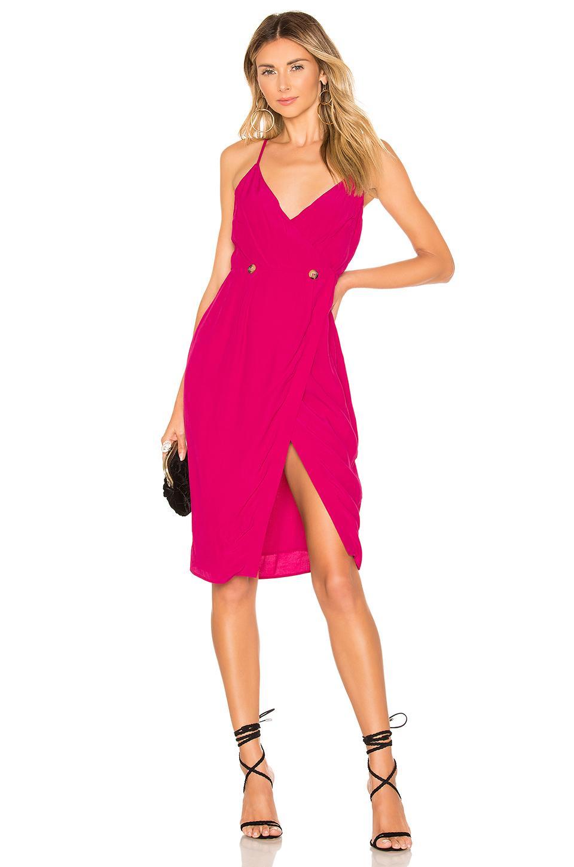 57b405bc32832 Lyst House Of Harlow 1960 X Revolve Danira Dress In Fuchsia Pink