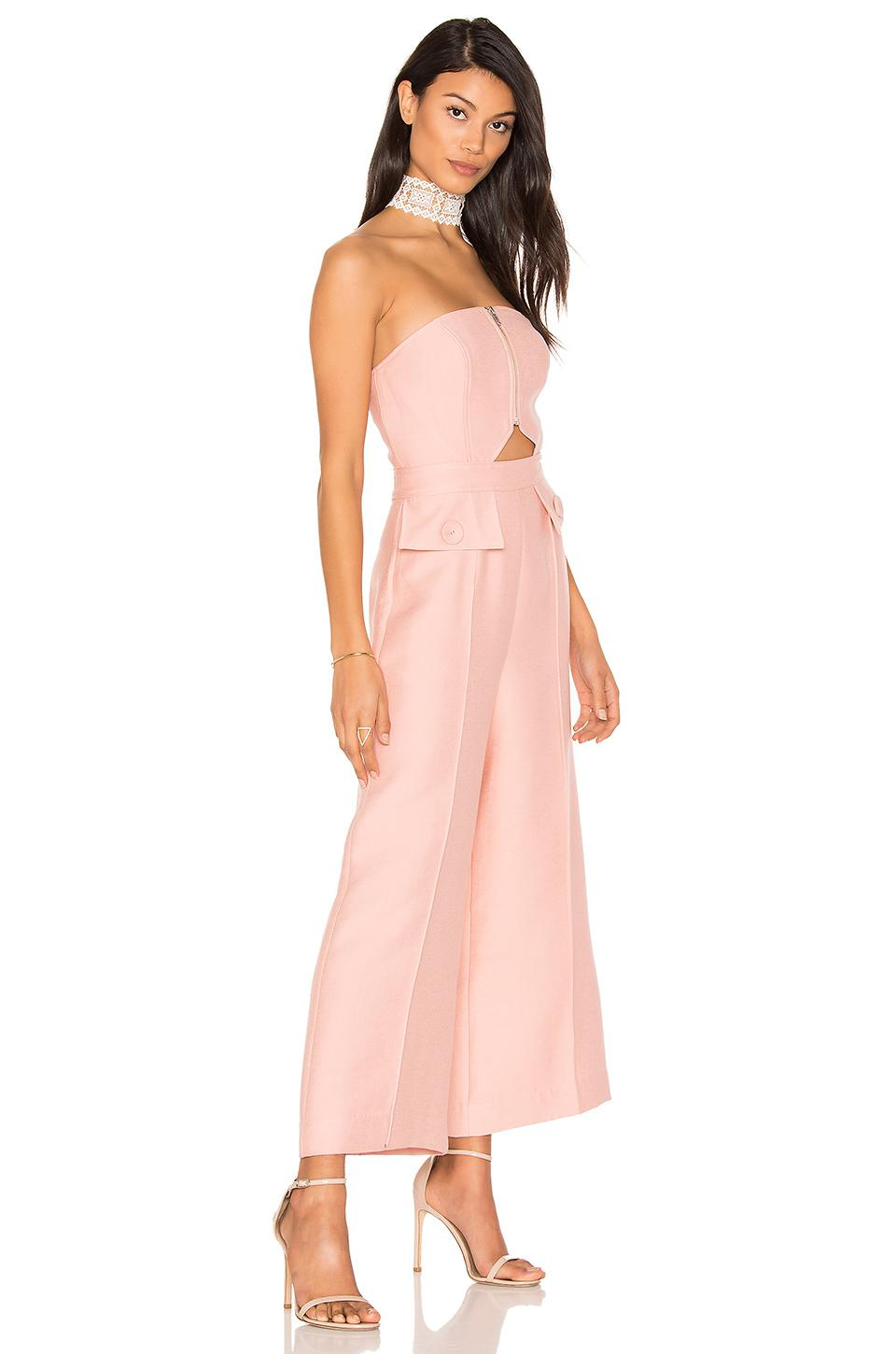 bf2b39d140f C meo Collective No Limit Jumpsuit in Pink - Lyst