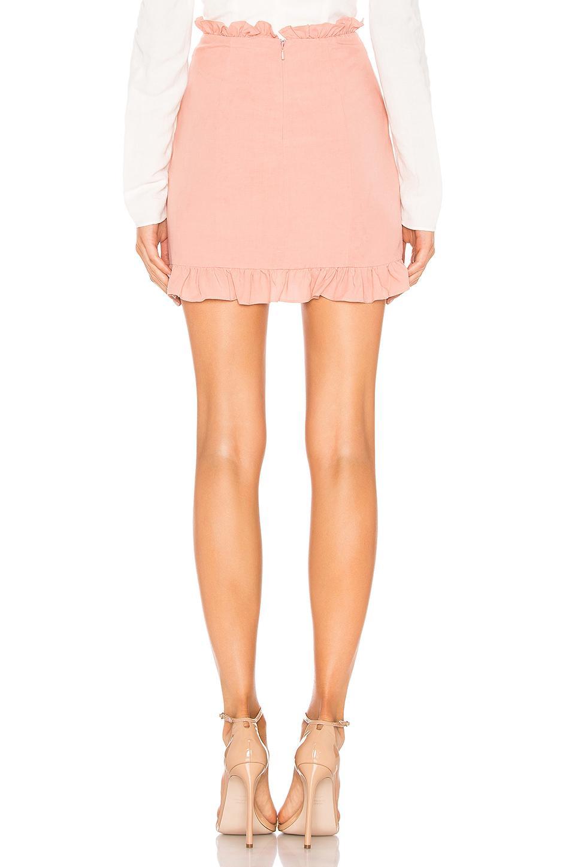 Minifalda con cordón emily Lovers + Friends de color Rosa