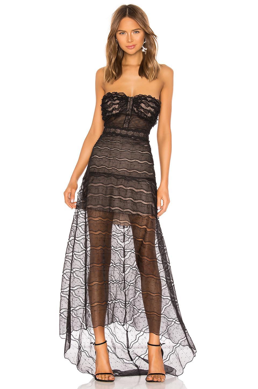 0678c561229a Alexis Ashta Dress in Black - Lyst