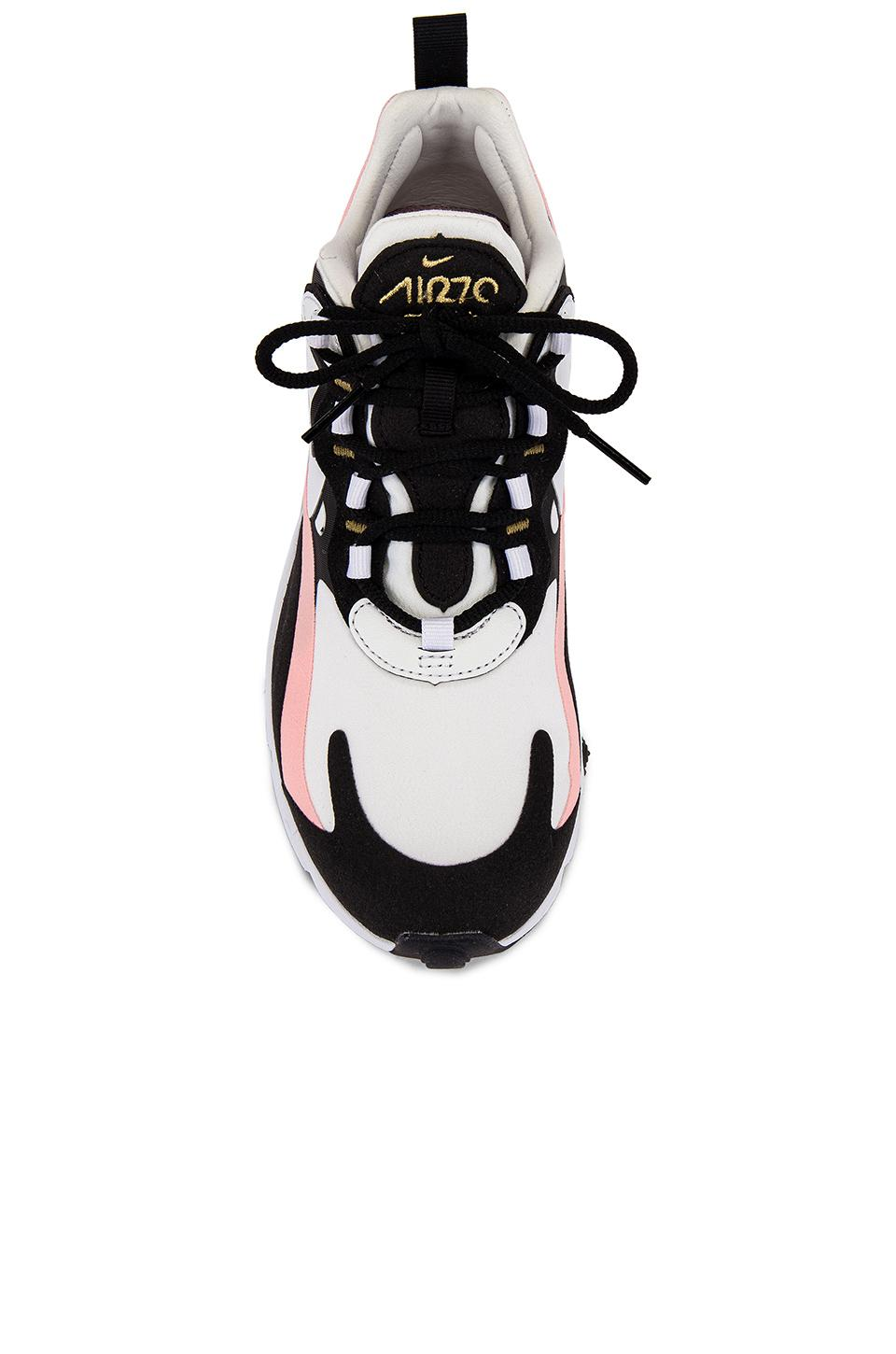Zapatilla deportiva air max 270 react Nike de Caucho de color Negro
