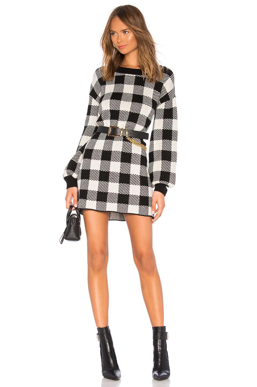 2e17b49bde LPA Floyd Sweater Dress in Black - Save 6% - Lyst