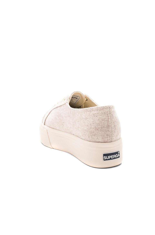 Superga 2790 Polywool Platform Sneaker