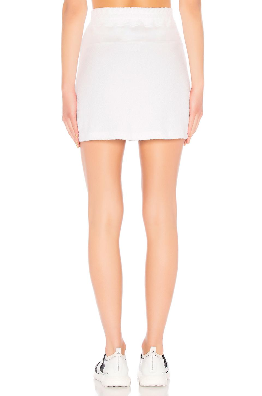 Alala Cotton Baja Skirt in White