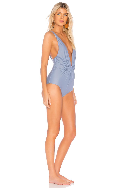80a7546914 Tori Praver Swimwear Andie One Piece in Blue - Lyst