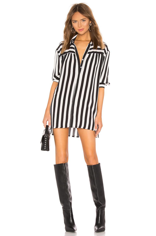 da446e8f82b Lovers + Friends Kay Shirt Dress in Black - Lyst