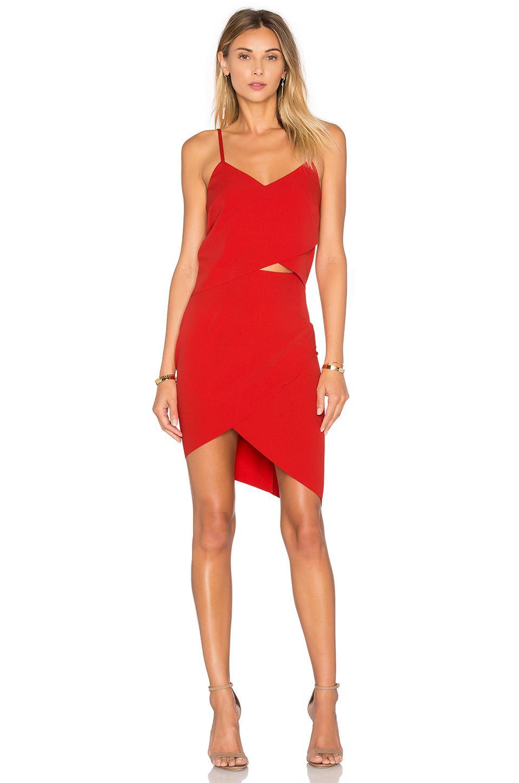 c4a4c12ee6 Elliatt X Revolve The Shot Tulip Dress in Red - Lyst