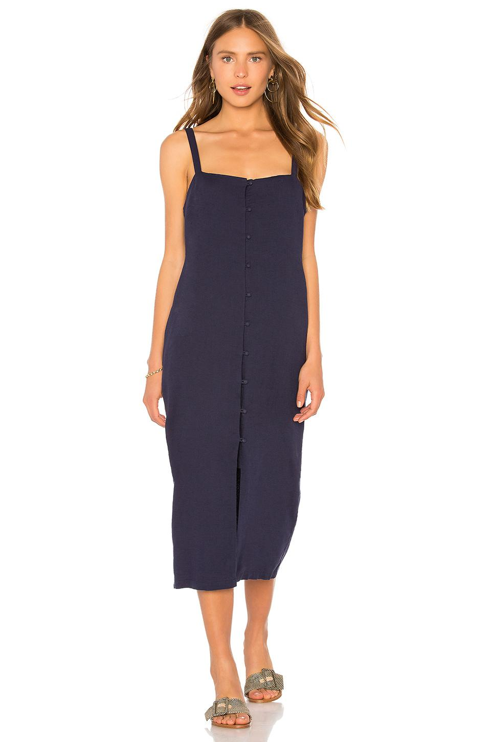 c1d87da3de Tavik Tara Midi Dress in Blue - Lyst