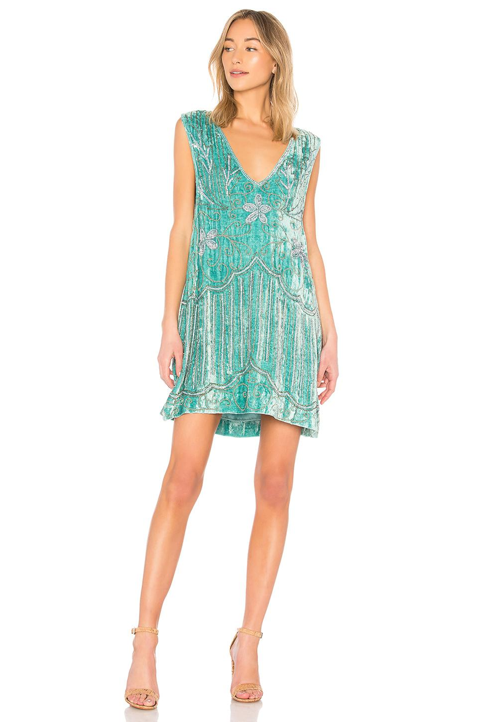 Spell & The Gypsy Collective Elsa Sequin Dress in Green - Lyst