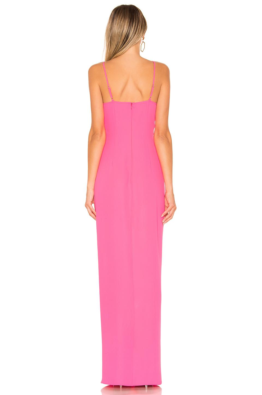 17389f49 Amanda Uprichard - Pink Ellie Maxi Dress - Lyst. View fullscreen