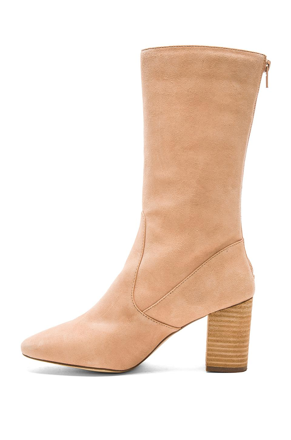 Matisse Suede Babe Boots in Natural