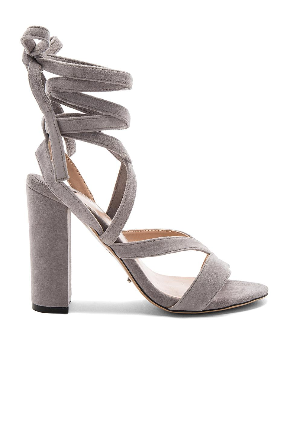 Tony Bianco Suede Kappa Sandals Lyst