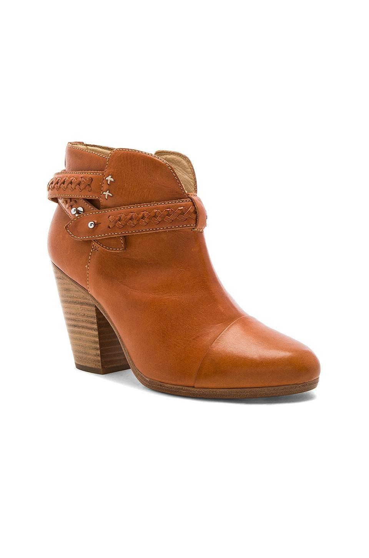 Rag & Bone Leather Harrow Boot in Brown