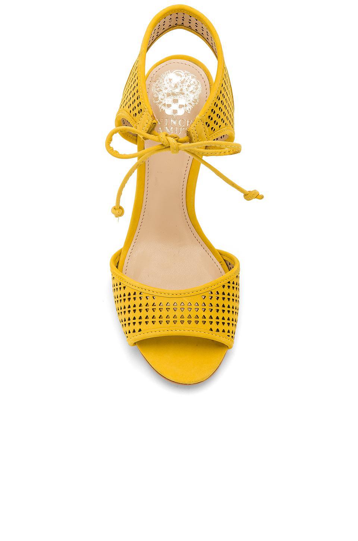 Vince Camuto Kanara Heel In Yellow Lyst