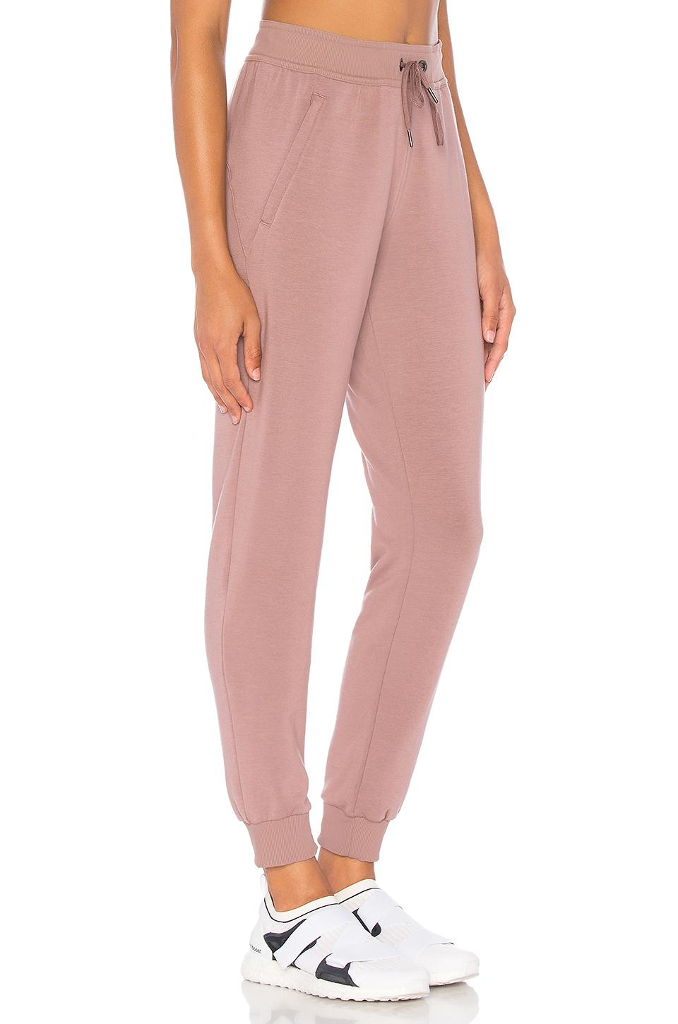 2ca3437167 Lyst - Alo Yoga Journey Sweatpant in Pink