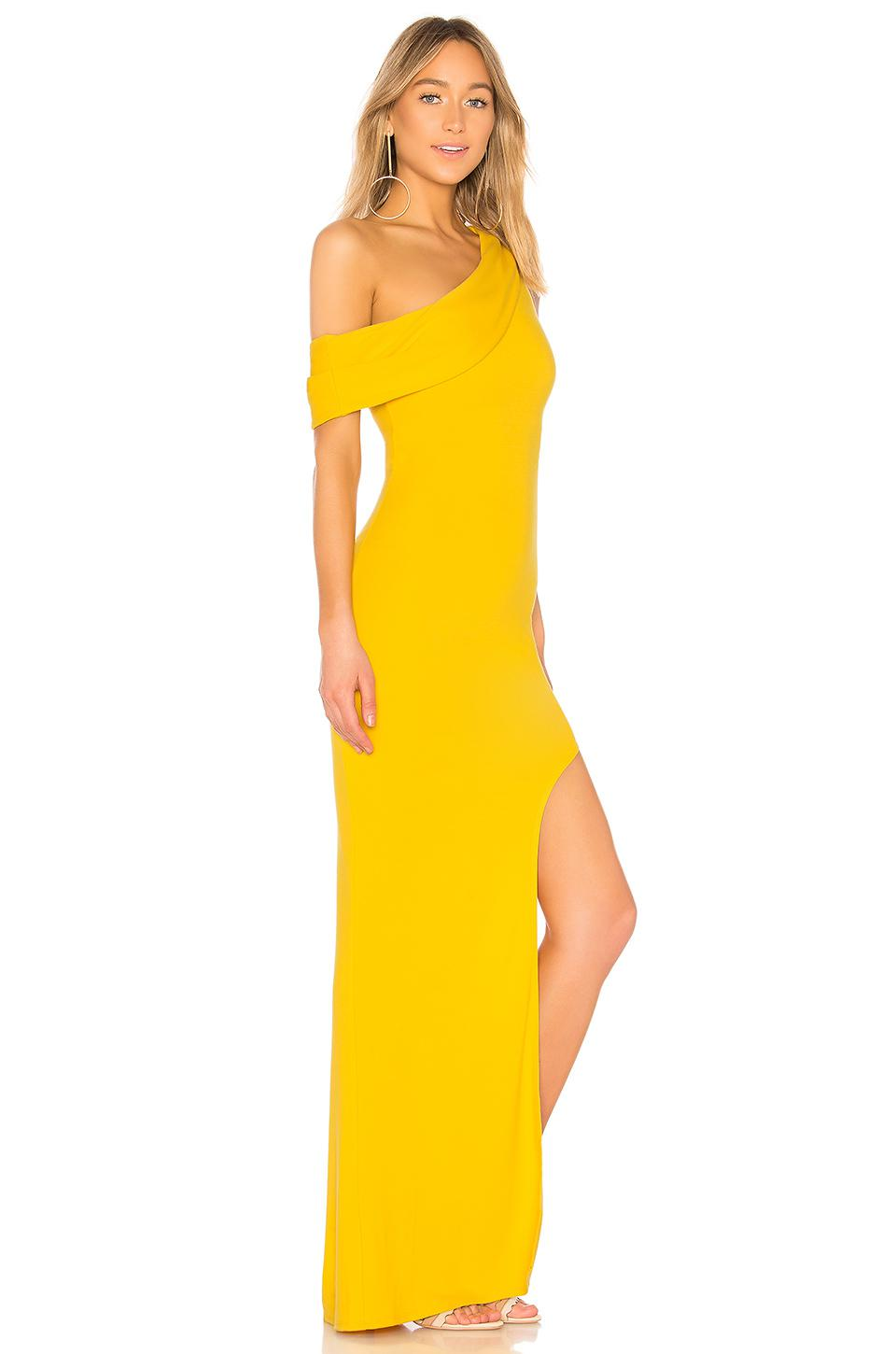 Lyst Lovers Friends Marigold Gown In Yellow In Yellow