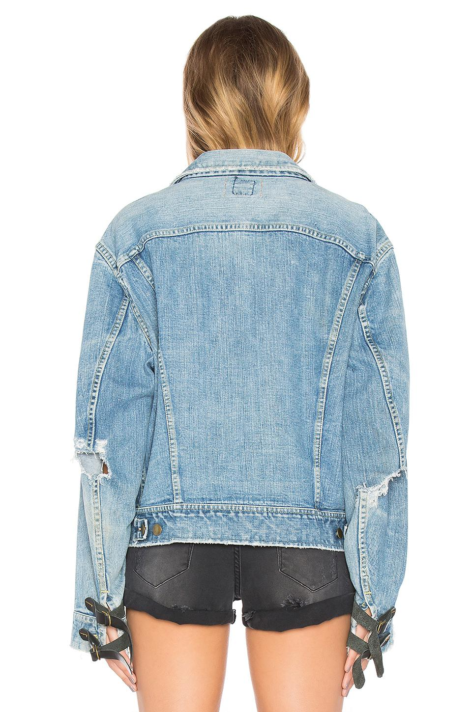 8712a04c42f Lyst - One Teaspoon The Vintage Denim Jacket in Blue