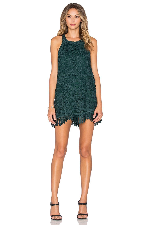f4110501549 Lyst - Lovers + Friends X Revolve Caspian Shift Dress in Green