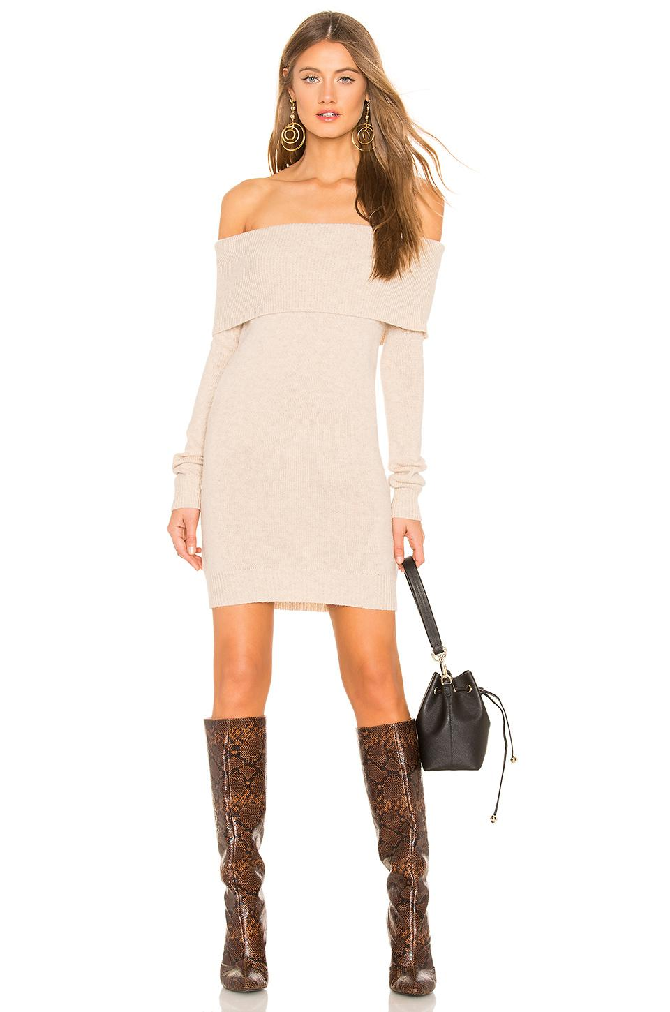 50883a27931 Tularosa Dreamin Sweater Dress in Brown - Lyst