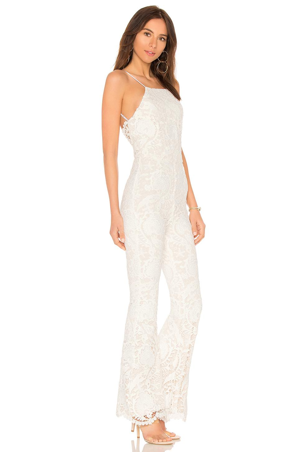 ecb21f06d298 Lyst - Stone Cold Fox Dylan Jumpsuit in White