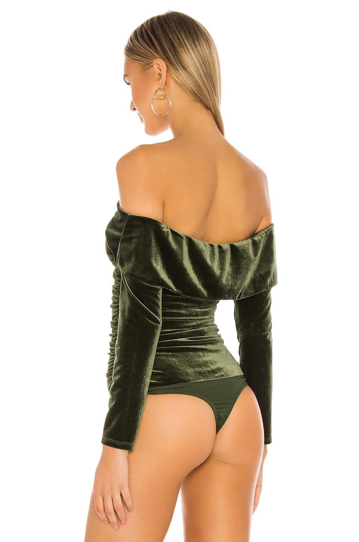 Body kearny MAJORELLE de Tejido sintético de color Verde