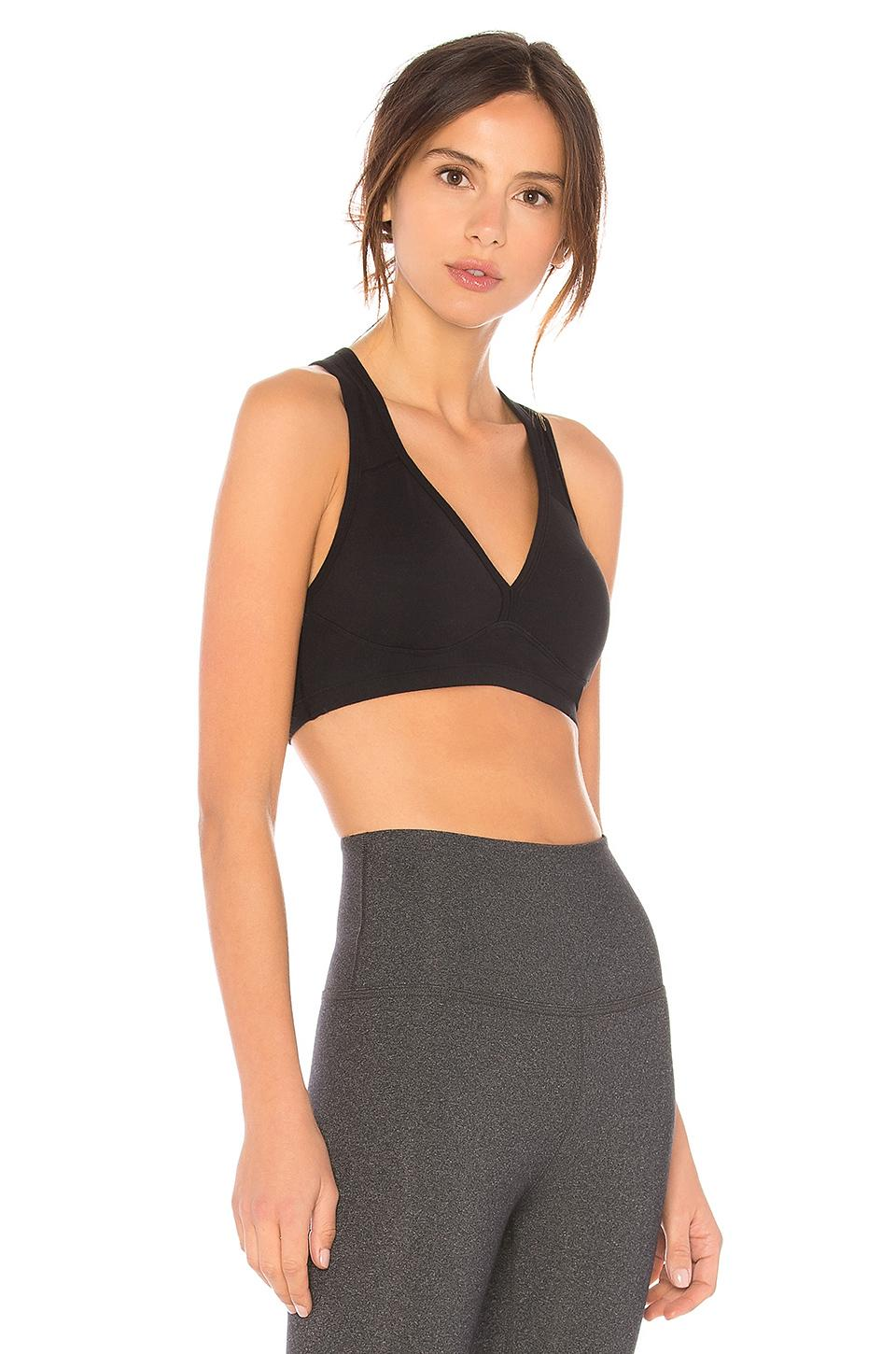 78aa20ba6 Beyond Yoga - Black Lift   Support Sports Bra - Lyst. View fullscreen