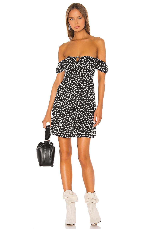 Vestido kana AllSaints de Tejido sintético de color Negro