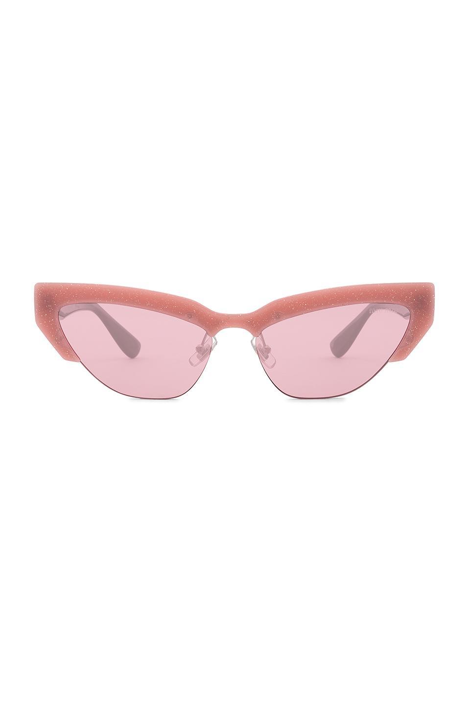 Miu Miu. Gafas De Sol Catwalk Style de mujer de color rosa 4f4f023505