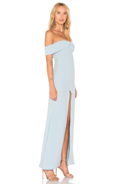 Lyst Lovers Friends X Revolve Danica Gown In Blue