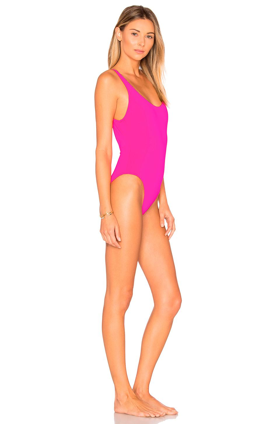daafd1bfe09 Solid & Striped The Anne Marie One Piece in Pink - Lyst