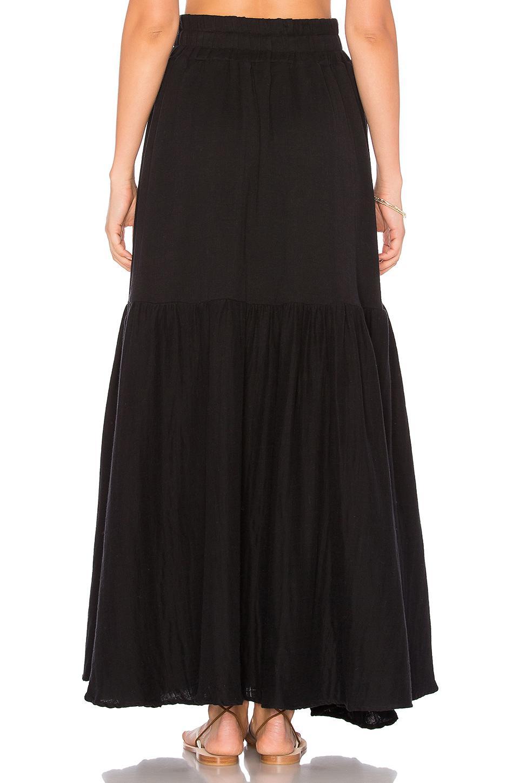 7649e1e83 Mara Hoffman Carmen Skirt in Black - Lyst