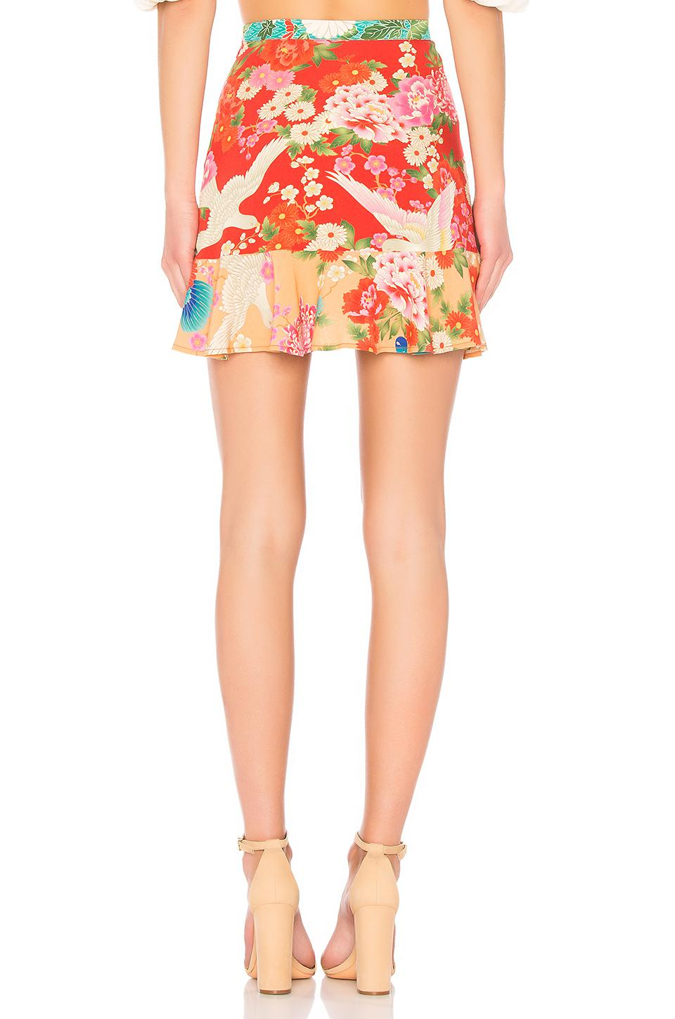 15dddef8f Gallery. Previously sold at: REVOLVE · Women's Gypsy Skirts Women's Red  Skirts