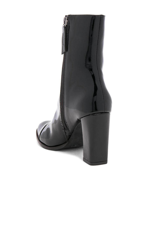 Matisse Leather Florian Bootie in Black Patent (Black)