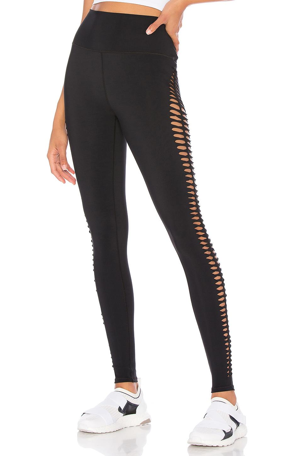 245be27b1e Lyst - Alo Yoga Reform Legging in Black
