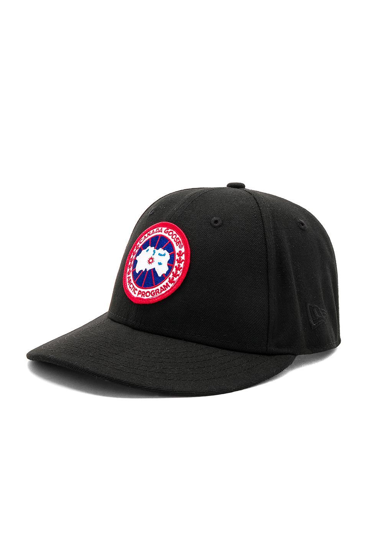 d6f0854327a19 Canada Goose New Era Core Cap in Black for Men - Lyst