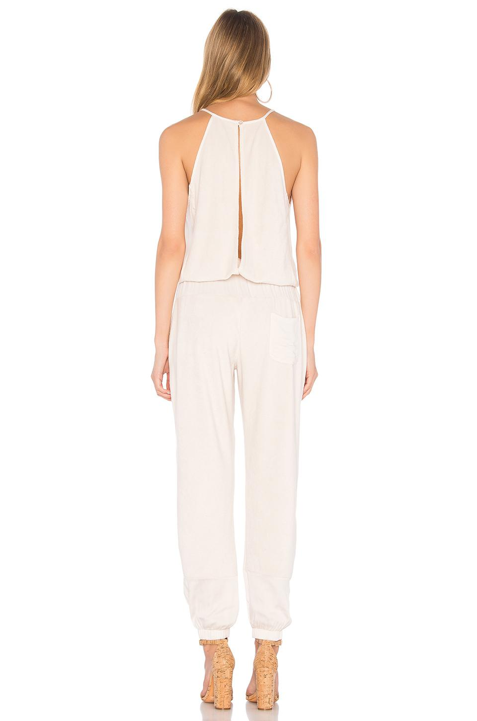69a5424bb180 Young Fabulous   Broke Diego Jumpsuit In Cream - Lyst