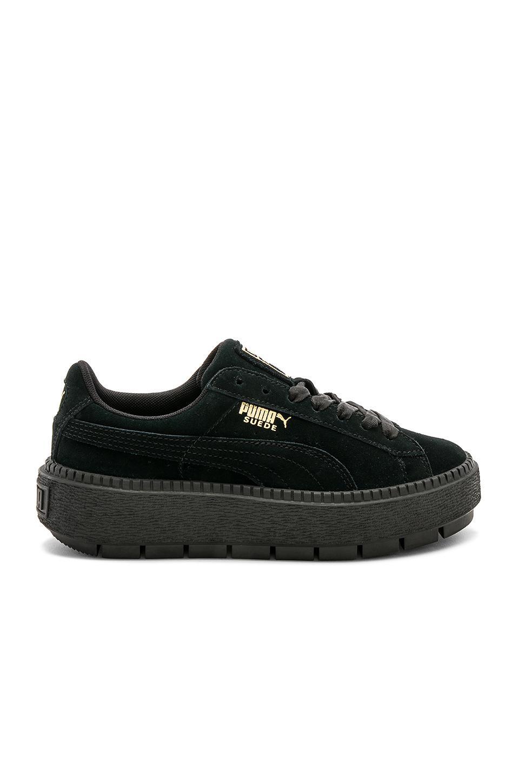 PUMA Suede Platform Rugged Sneaker in