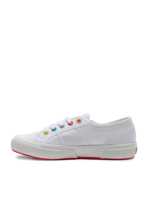 Superga Canvas 2750 & 2790 Multi Eyelet Sneaker in White
