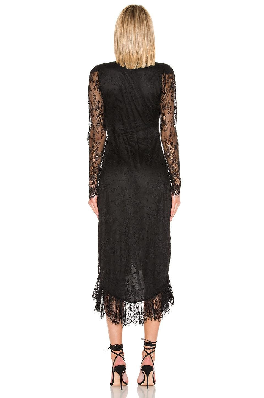 Robe Midi Kathleen Jean L'academie en coloris Noir