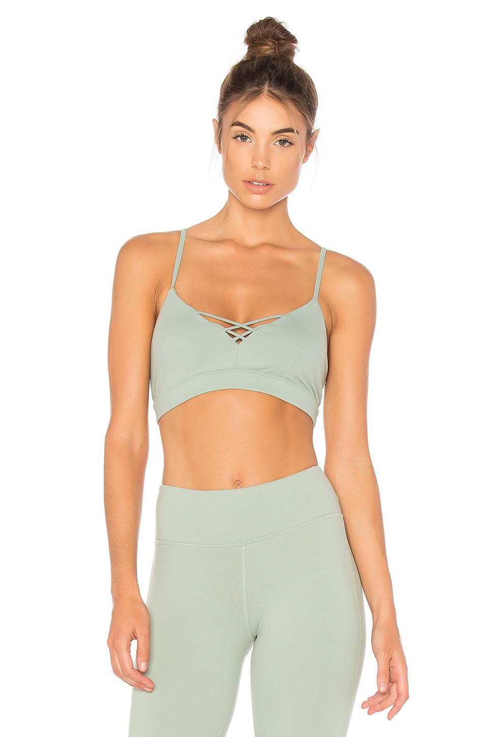 Image result for alo yoga lush and interlace bra
