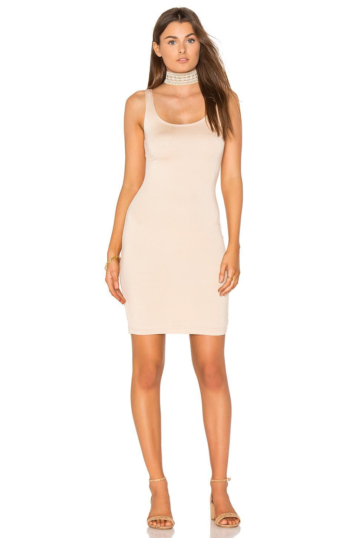 Blq basiq Fitted Midi Dress | Lyst