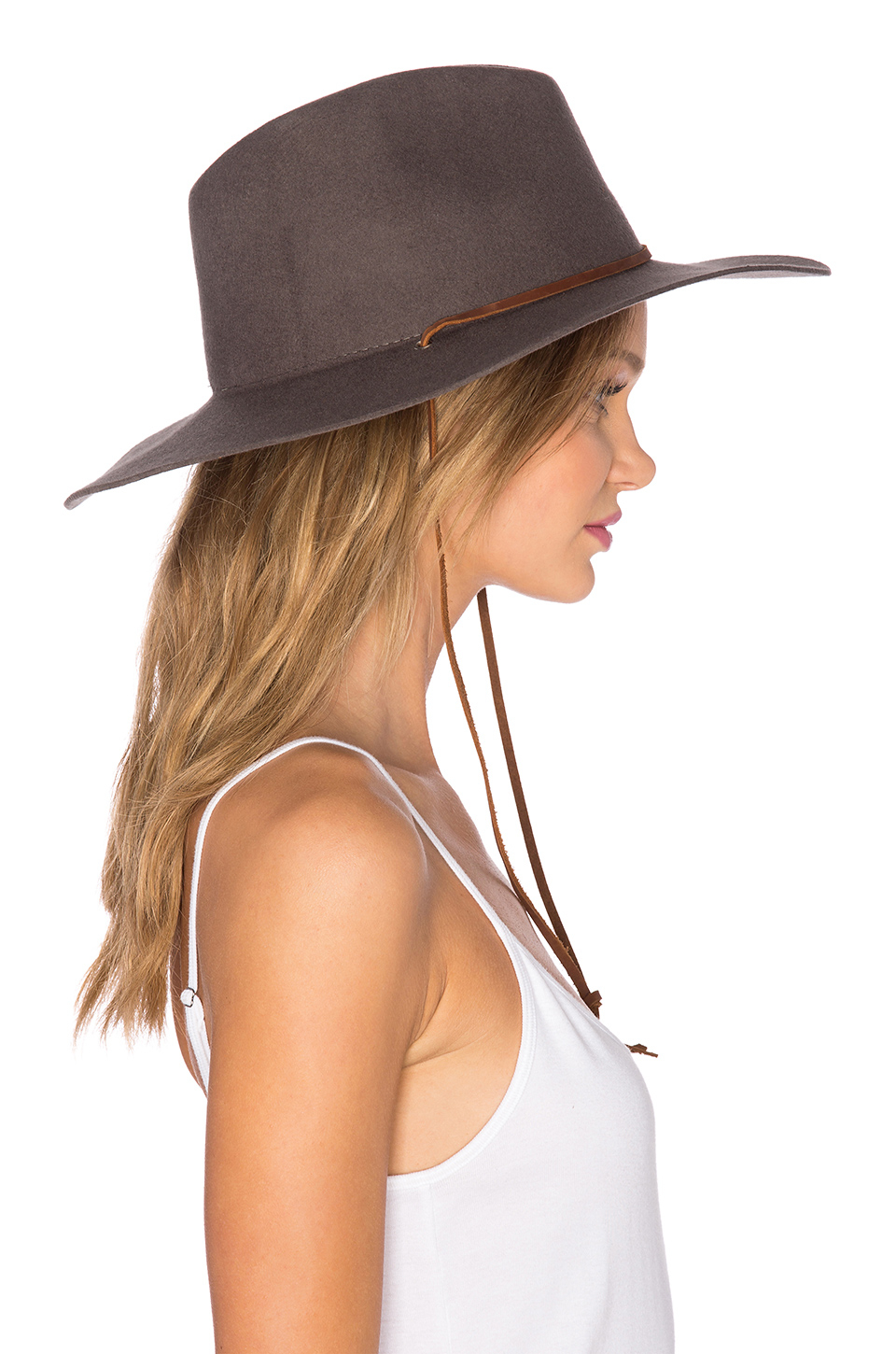 fa324d8321c Lyst - Brixton Mayfield Ii Hat in Brown