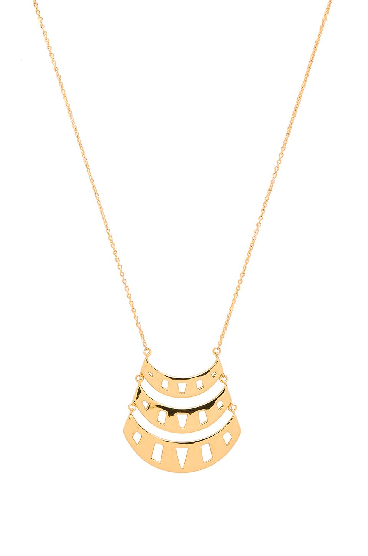 gorjana behati pendant necklace in metallic lyst