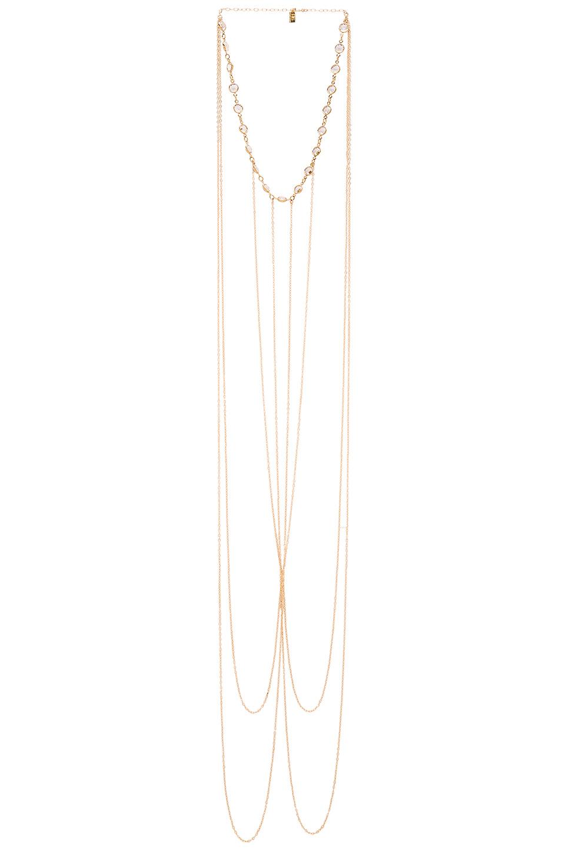 Haati Chai Viya Body Chain in Metallic Gold hf2vc